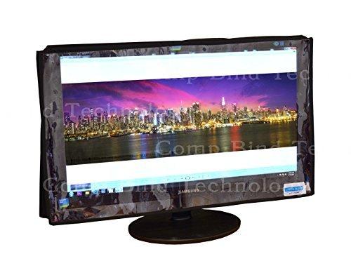 モニターカバー LG 26LN4500-UA 26インチ ポータブル 720p LED TV用 Comp Bind Technology クリア透明ナイロンダストカバー 幅24.5インチ×奥行2.9インチ×高さ15.2インチ   B07CZ2N1QT