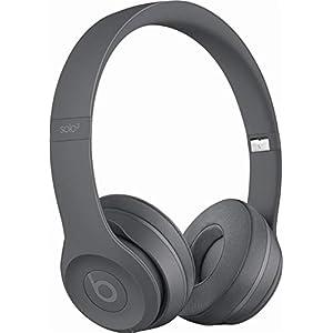 Beats Solo3 Wireless On-Ear Headphones – Neighborhood Collection – Asphalt Gray (Renewed)