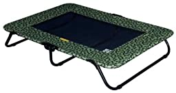 """Raised Dog Bed Extra Large Elevated Cot Outdoor Pet Bed (PG6240BSG ,Sage Bone,40""""L x 29""""W x 6\"""