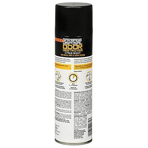 Zep Foaming Garbage Disposal Odor Destroyer 19 ounce ZUDGF19 (Case of 4) by Zep (Image #1)