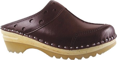 Båstad Troentorp Clog Leather Durer Cola Women's UqqAw5B