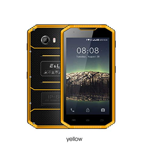 Price comparison product image MChoiceE&L W7S 5.0 Inch 2GB+16GB ROM 5MP+8MP Cameras 4G Smartphone GPS WiFi Cellphone (Yellow)