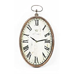 Zentique Paris Oval Wall Clock