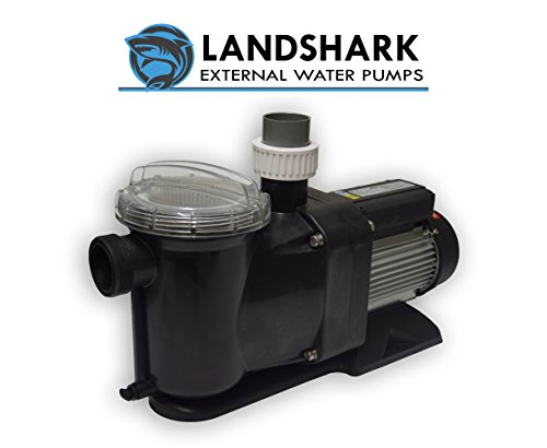External Aquarium Water Pumps - Landshark LS4000 High Efficiency 1/2 Horsepower External Water Pump. 4,100 Gallons Per Hour Maximum Flow Rate