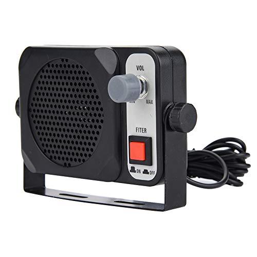 Vbestlife Mini Portable Walkie Talkie Car Mobile Radio External Speaker for Motorola/for YAESU/Two Way Radio
