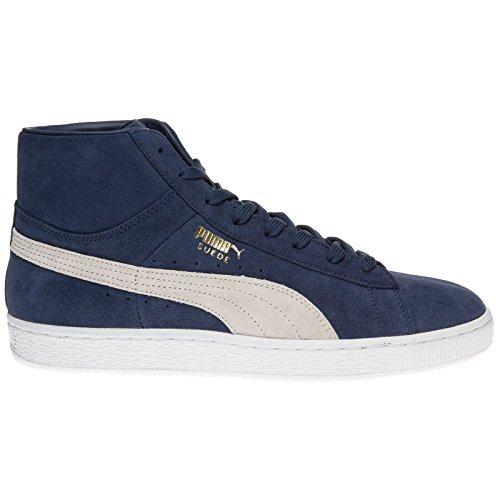 Puma - Zapatillas de skateboarding de ante para hombre azul azul, color azul, talla 42.5
