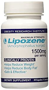 Lipozene Weight Loss Pills 30 Count
