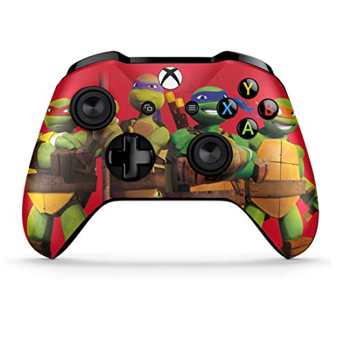 Custom Design Xbox One Wireless Controller for Microsoft Xbox One - Soft Touch Feel Anti-Slip Soft Grip NonModded Controller - Custom Xbox One Game Controller (TMNT 3 Inspired Skin) (Best Xbox One Kinect Fighting Games)