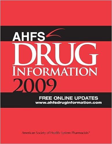 DRUG INFORMATION AHFS PDF DOWNLOAD