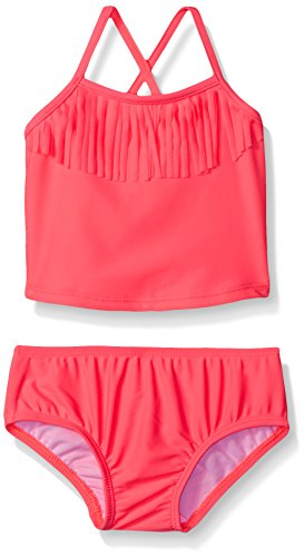 Carter's Baby Two Piece Fringe Tankini, Pink, 12 Months