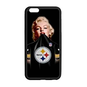 HipsterOne Pittsburgh Steelers Marilyn Monroe Case for iPhone 6 Plus (5.5 inch; Laser Technology)