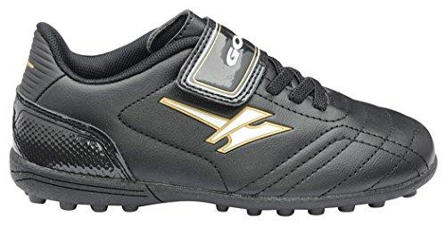Gola  Football Boots, Jungen Fußballschuhe, schwarz - schwarz / gold - Größe: 31 EU Kinder