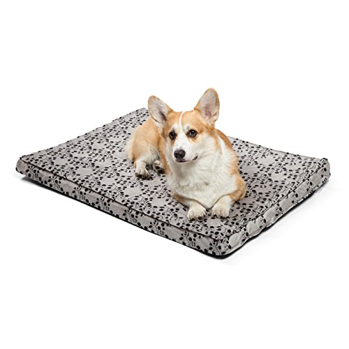 Disney Nightmare Before Christmas Jack Skellington Orthopedic 2.5″ Joint Relief, Dog Bed / Dog Mattress / Crate Mat, 27″x36″x2.5″, Made with High-Density CertiPUR Foam, Dirt/Water Resistant