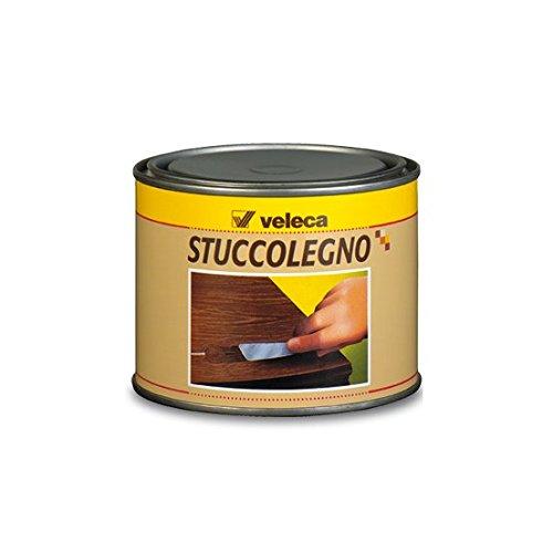 2 opinioni per Veleca Stuccolegno, Stucco in Pasta per Legno, Noce Scuro