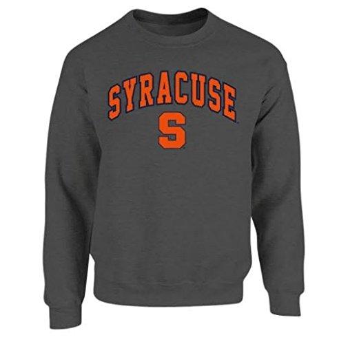 Syracuse Orange Crewneck Sweatshirt Arch Charcoal - XL