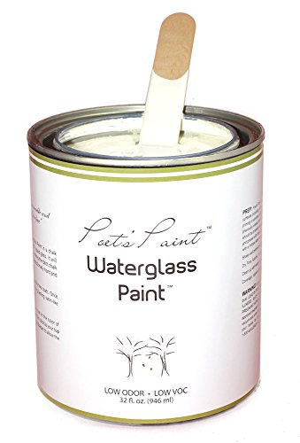 Poets Paint Waterglass Paint Chalk Finish 32 oz. Vintage - Quart Piano