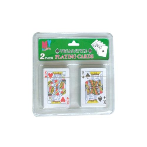 DDI 678476 Playing Cards 2 Pack Case Of 96