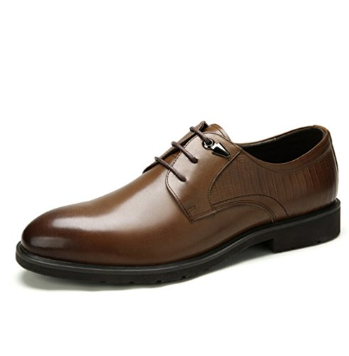 Camel Mens Point Toe Casual Oxford Flats Lace-ups Color Brown Size 42 M EU N3LZGRJa