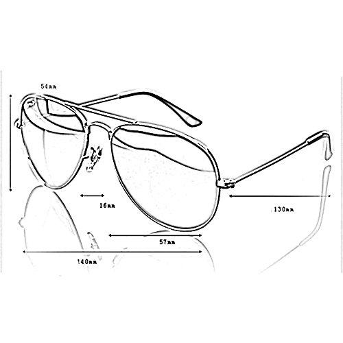 Gafas UV Retro De Color Protección Gafas Sol YQ De Conducción Polarizadas Gafas 2 1 QY nZ1wqg