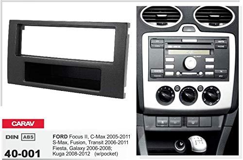 /001/DIN Auto Radio de Radio Marco de Montaje Carav 40/