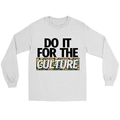 Migos Do It for The Culture Floral Rap Hip-Hop Long Sleeve Shirt