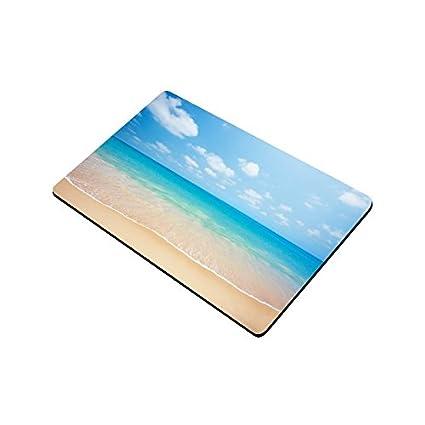 W Entrance Rug Rubber Backing Large 30 L InterestPrint Tropical Beach Sunset Clear Turquoise Ocean Doormat Non Slip Indoor//Outdoor Door Mat Floor Mat Home Decor x 18