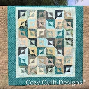 Cozy Quilt Designs CQD01188 Simplicity II Pattern ()