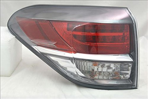 OE Replacement Tail Light Assembly LEXUS RX350 2013-2015 Multiple Manufacturers LX2804112N Partslink LX2804112