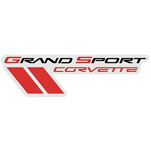 Corvette Metal Sign Grand Sport C6