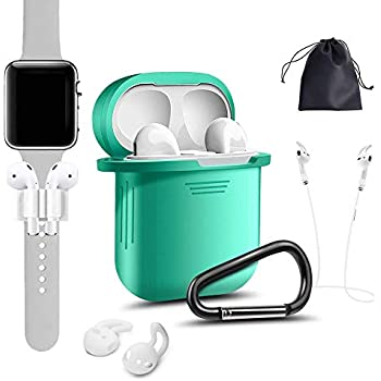Amazon.com: Airpods Case, [Airpods Accessories Set