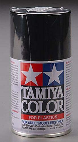 - Tamiya America, Inc Spray Lacquer TS-40 Metal Black, TAM85040