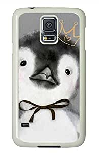 Penguin PC White Hard Case Cover Skin For Samsung Galaxy S5 I9600 by icecream design