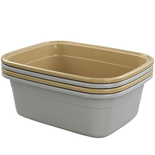 (Doryh 12 Quart Dish Pan Basin, 14