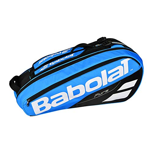 Babolat 2018 Best Quality Pure 6 Racquet Tennis Bag (Blue / Black) ()