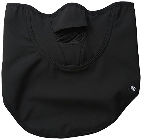 686 Wms Maidn Bonded flce Facemask, Black, One Size