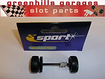 Greenhills Scalextric Accessory Pack VW Polo WRC axle/Wheels/Tyres ...