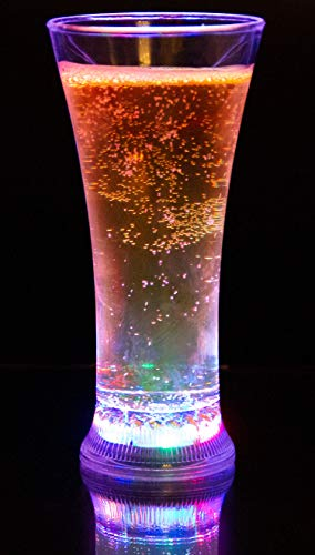 Light Up Cup - Liquid Activated Multicolor LED Pilsner Glass