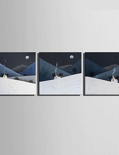 Amazon.com: FMY Stretched Canvas Art Smoke On The Mountain ...