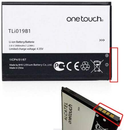 Givimusic batería Alcatel Original tli019b1tli019b2 para Alcatel One Touch Pop C7: Amazon.es: Electrónica