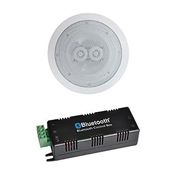 Bluetooth Amplificador 2 x 15 vatios con único techo estéreo altavoz: Amazon.es: Electrónica