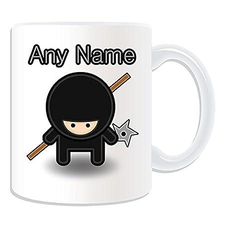 De regalo con mensaje personalizado - Ninja con diseño de y ...