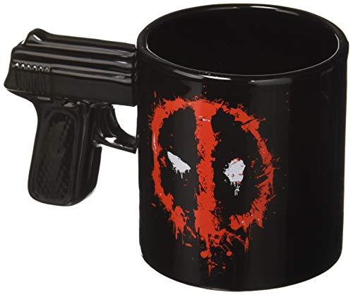Vandor 55404 Marvel Deadpool 20 oz. Sculpted Ceramic Mug