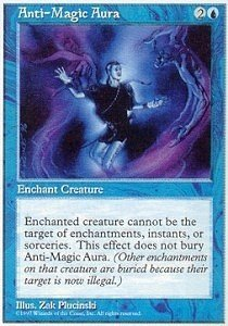 Magic: the Gathering - Anti-Magic Aura - Fifth Edition