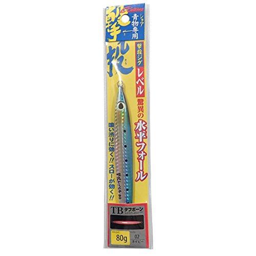 知る繊毛改善OWNER(オーナー) メタルジグ ルアー GJL-80 撃投ジグレベル 80g ネイビー #2 31873