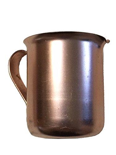 Aluminum Creamer - Aluminum Copper Tone Creamer