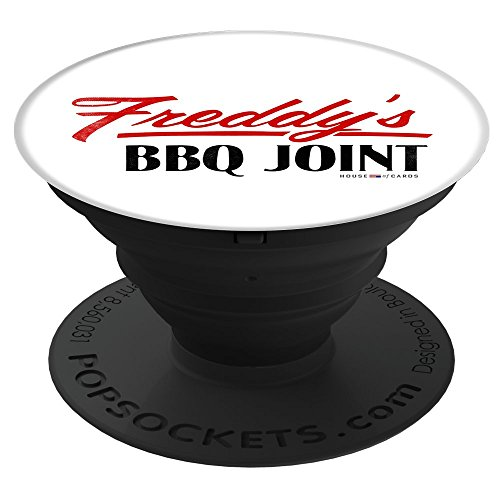 Joints Bbq (PopSockets Expanding Grips & Stands - Freddy's BBQ Joint (white))