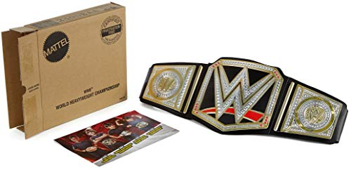 WWE World Heavyweight Championship Belt, Frustration-Free Packaging -