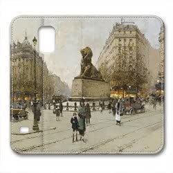 LGTOO Samsung Galaxy S5 Case,Early oil painting Samsung Galaxy S5 Cases,Samsung Galaxy S5 High-grade leather Cases