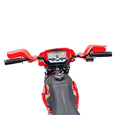 Festnight Electric Motocross Bike 6V Kids Ride On Bike Outdoor Bike Red: Kitchen & Dining
