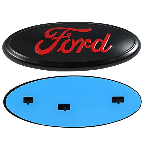 "Ruanye For Ford Front Tailgate Emblem, Oval 9""X3.5"", for sale  Delivered anywhere in USA"